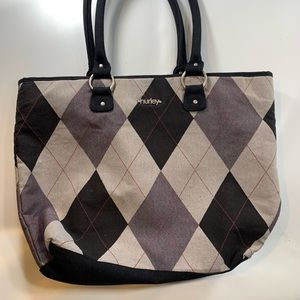 Hurley | Checkered Spacious Tote Carry-On